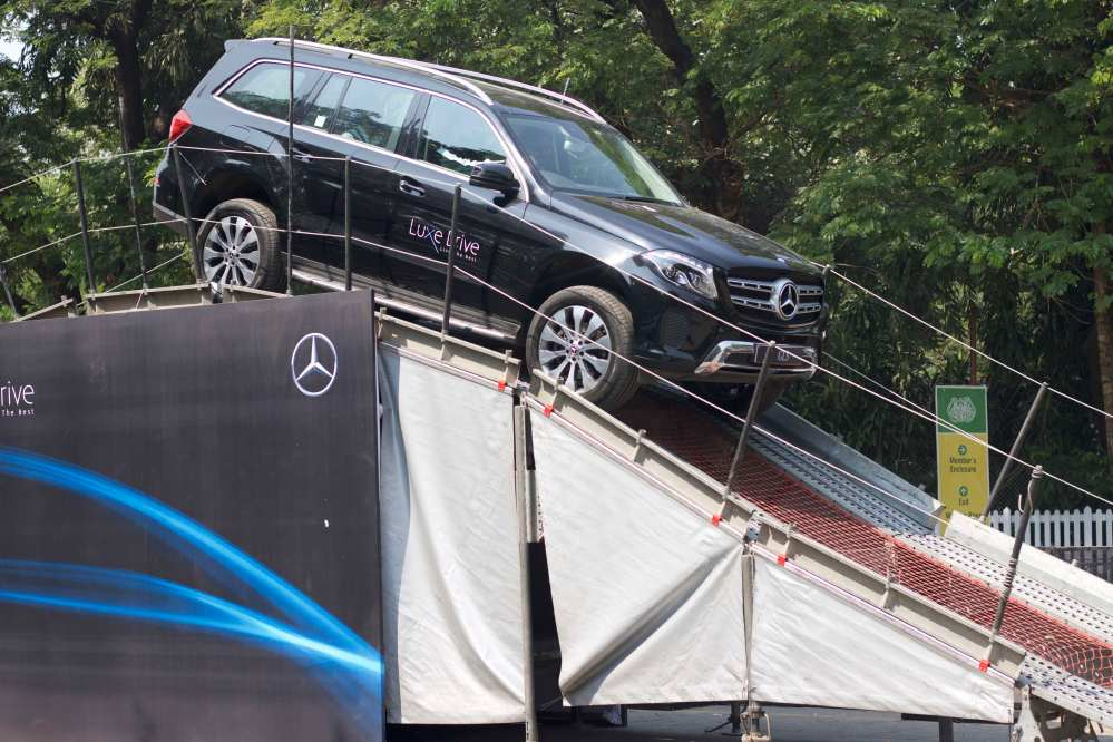 Mercedes−Benz organised the Luxe Drive at Mahalaxmi Racecourse in Mumbai..jpeg